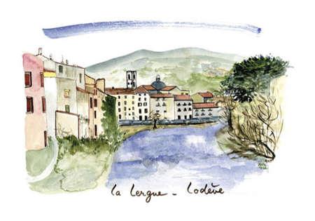La Lergue à Lodève