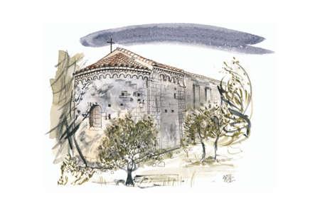 Église St Sylvestre des Brousses à Puéchabon