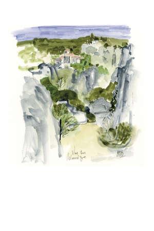 Vue sur Mourèze