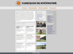Les Fabriques de sociologie
