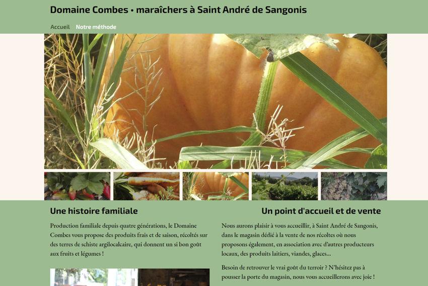 Domaine Combes maraîchers à Saint André de Sangonis