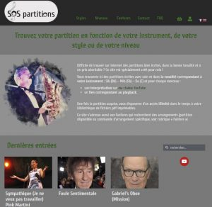 SOS Partitions Stéphane DANO